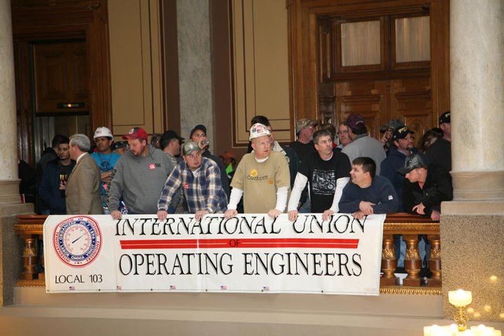 Local 103 at the State House.